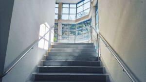 metal stair railing